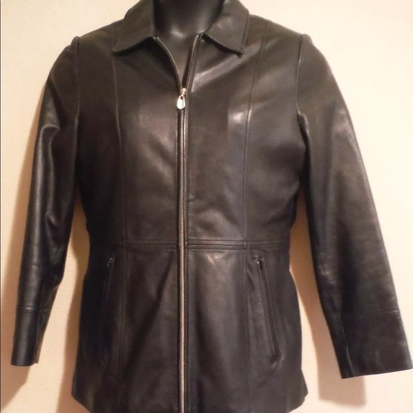 df0ff28a9 Wilson Leather Pelle Studio Womens Size M Jacket